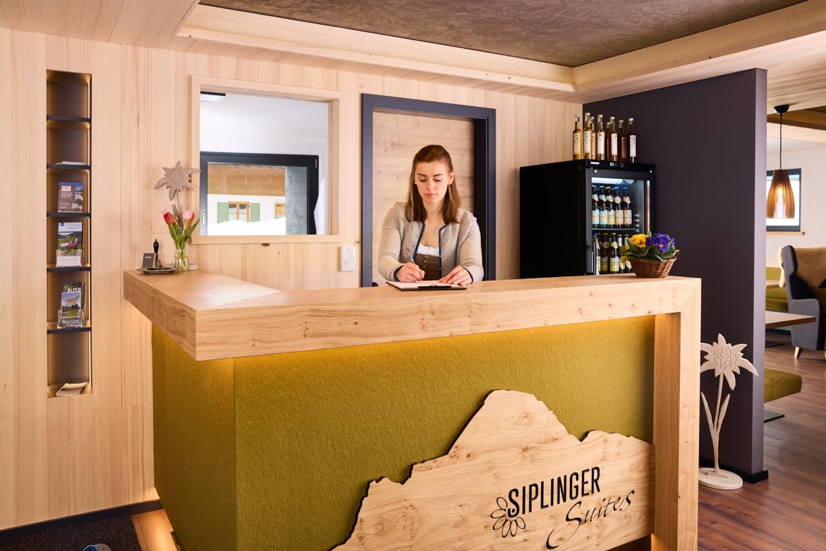 Siplinger Suites interior