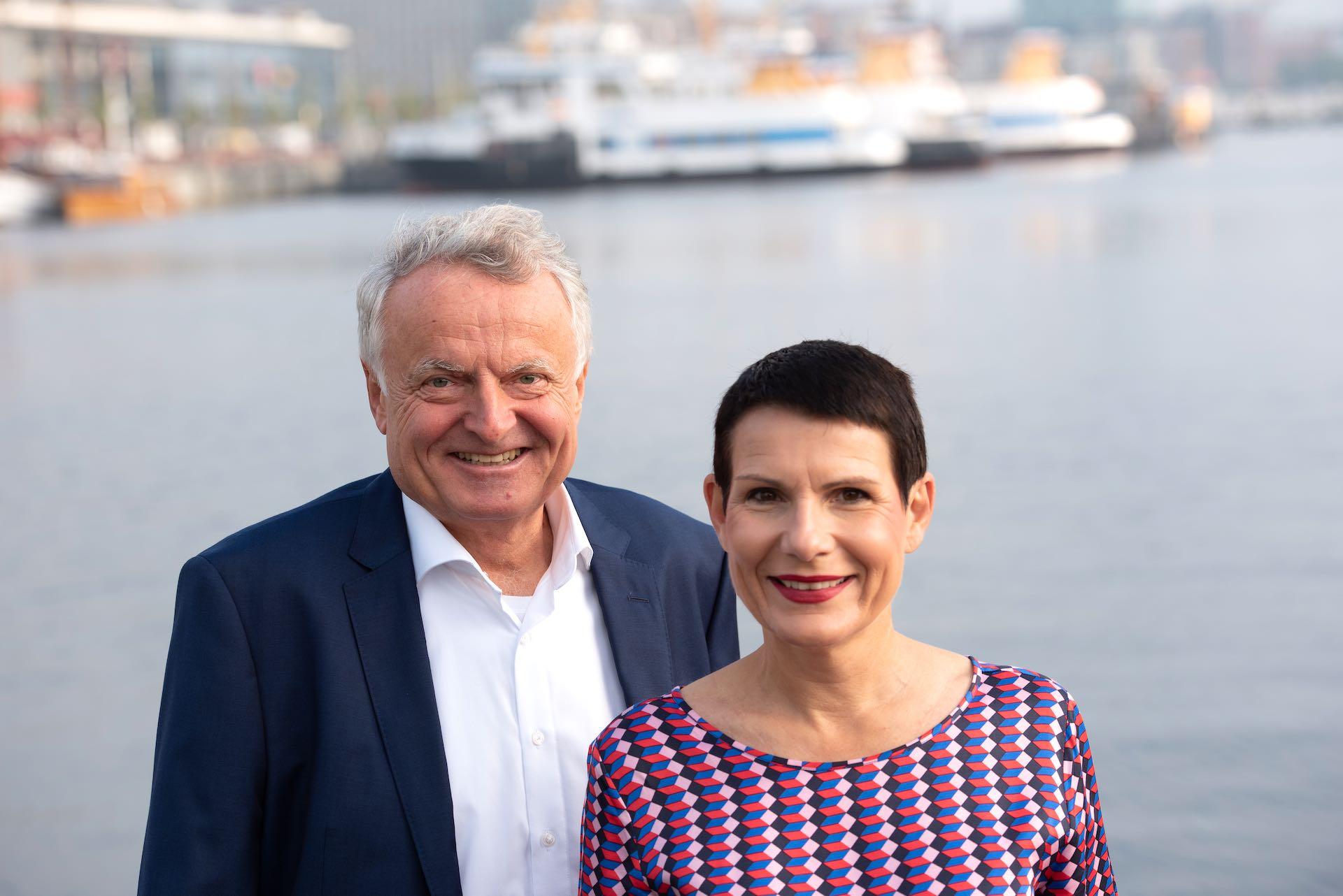Robert Cordes und Ute Rieger